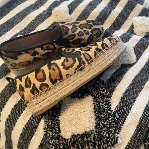 Sam Edelman calf hair slip on shoes
